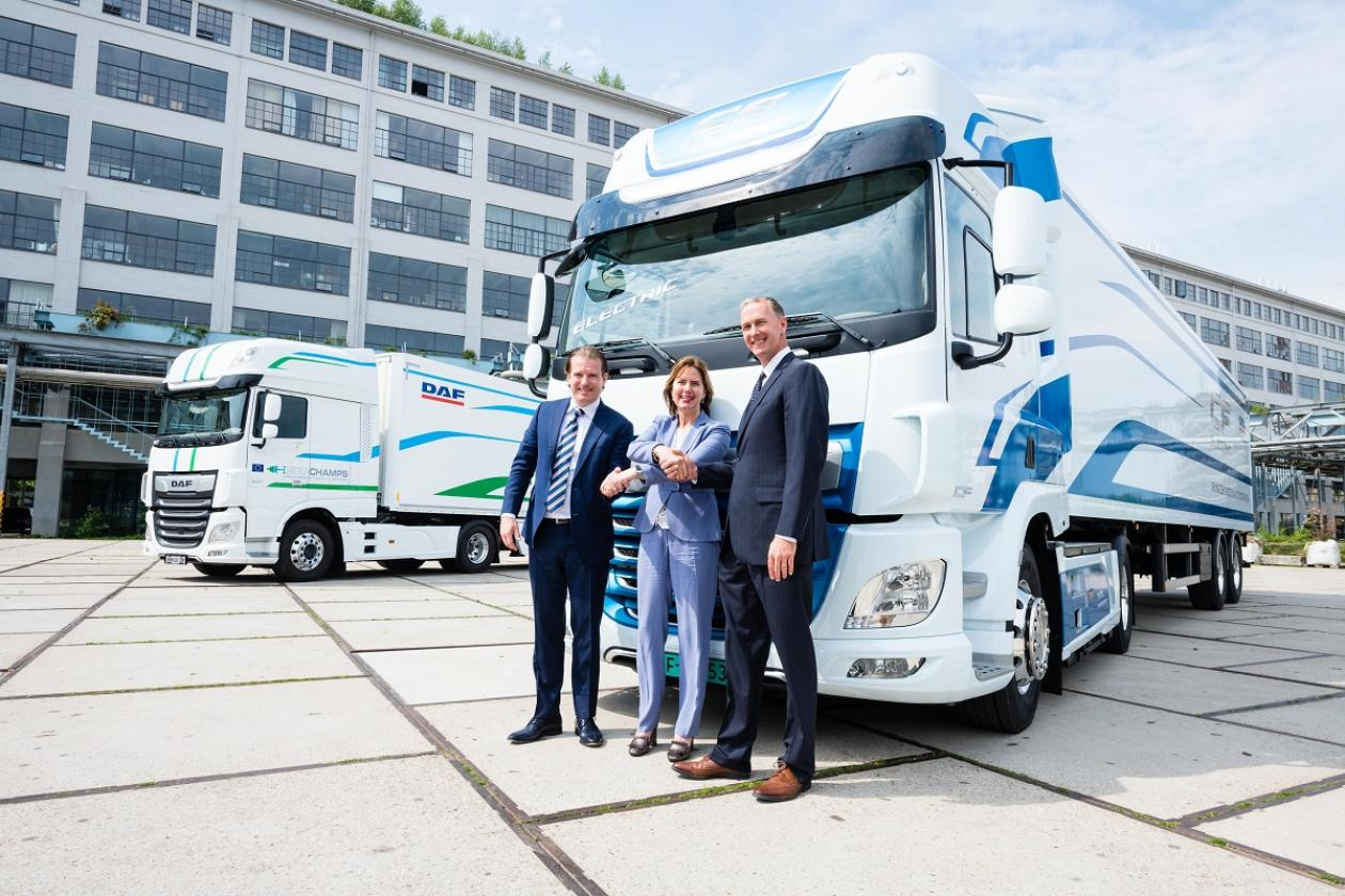 Green Truck Award for DAF CF Electric VDL E-Power